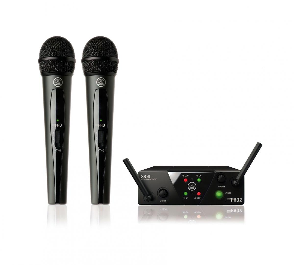 Радиосистема вокальная AKG WMS40 Mini2 Vocal Set BD US45A/C