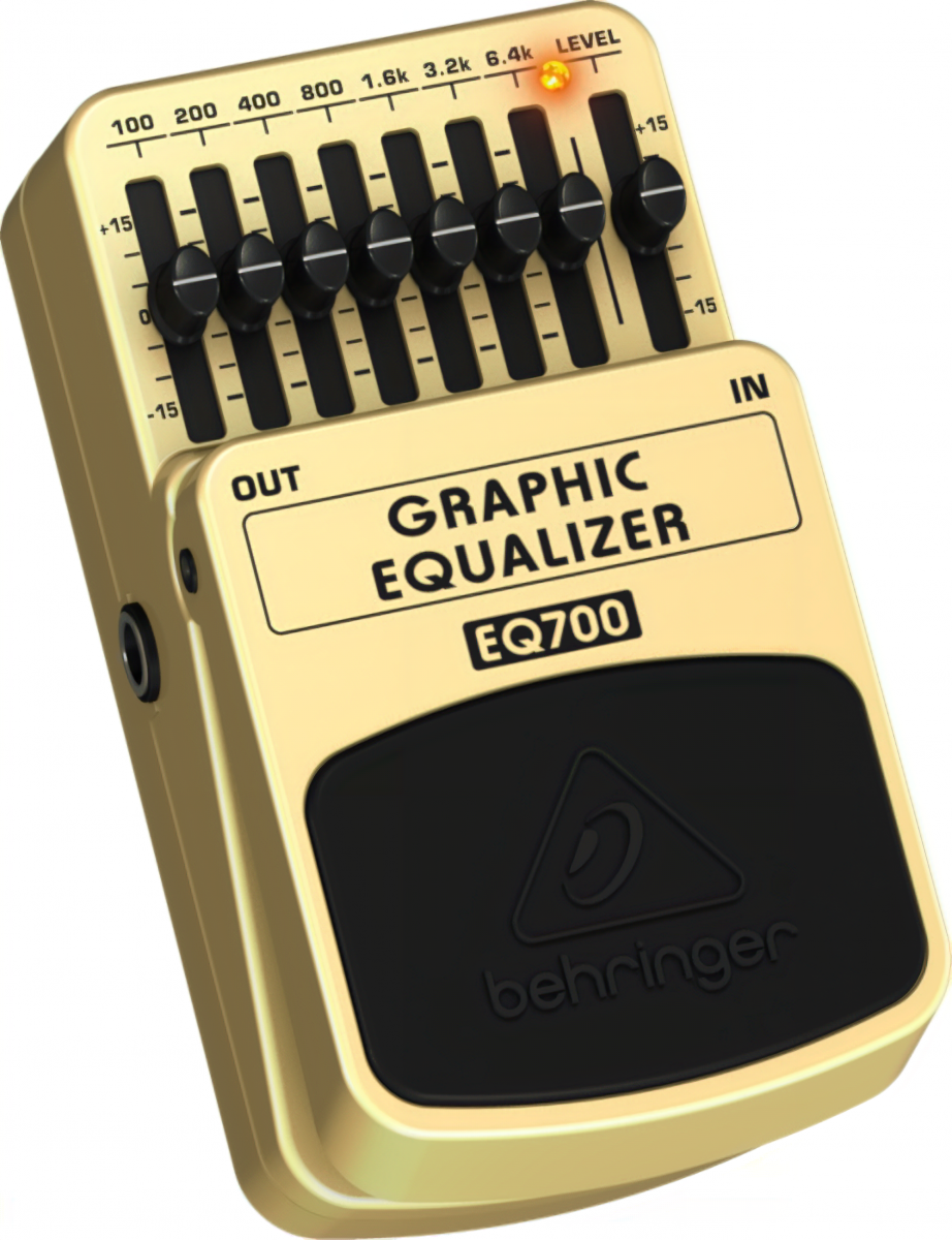 "Педаль эффектов ""Graphic Equalizer"" Behringer EQ700"