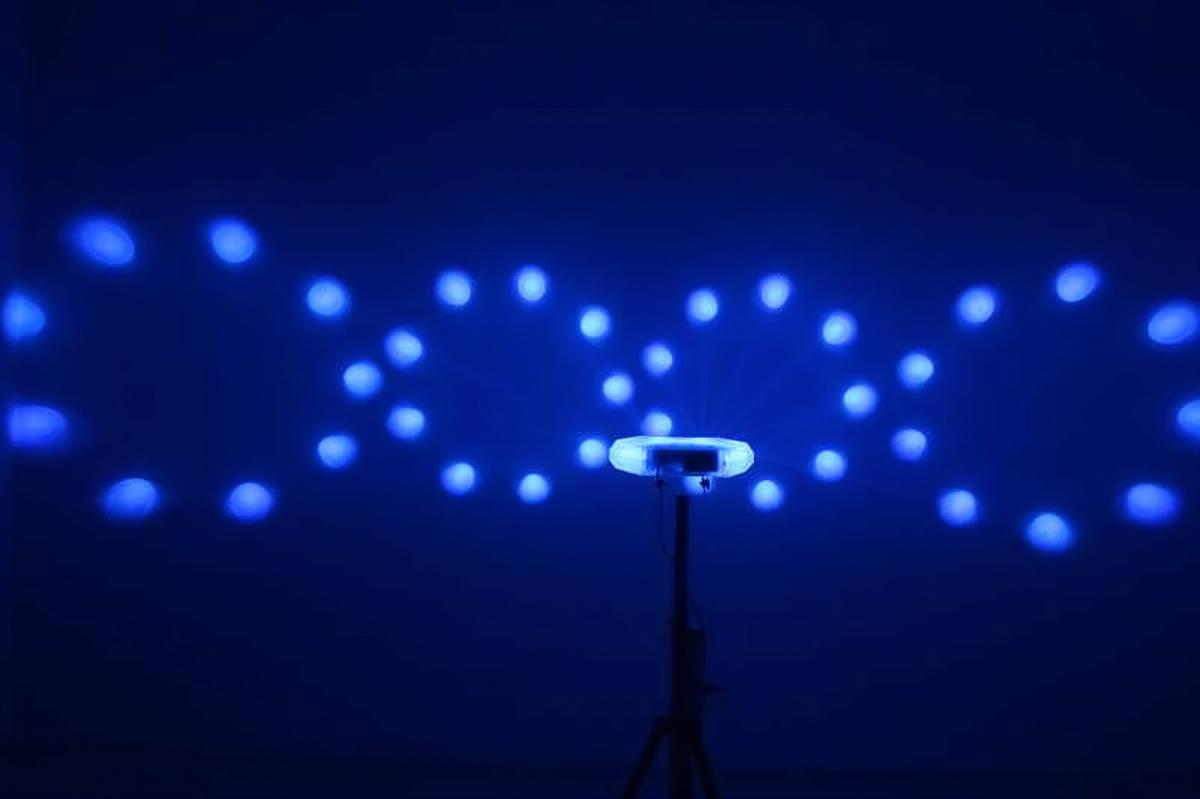Led Star Quad Moonflower