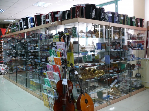 Музыкальные магазины Краснодара